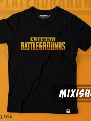 Áo logo Playerunknowns battle grounds