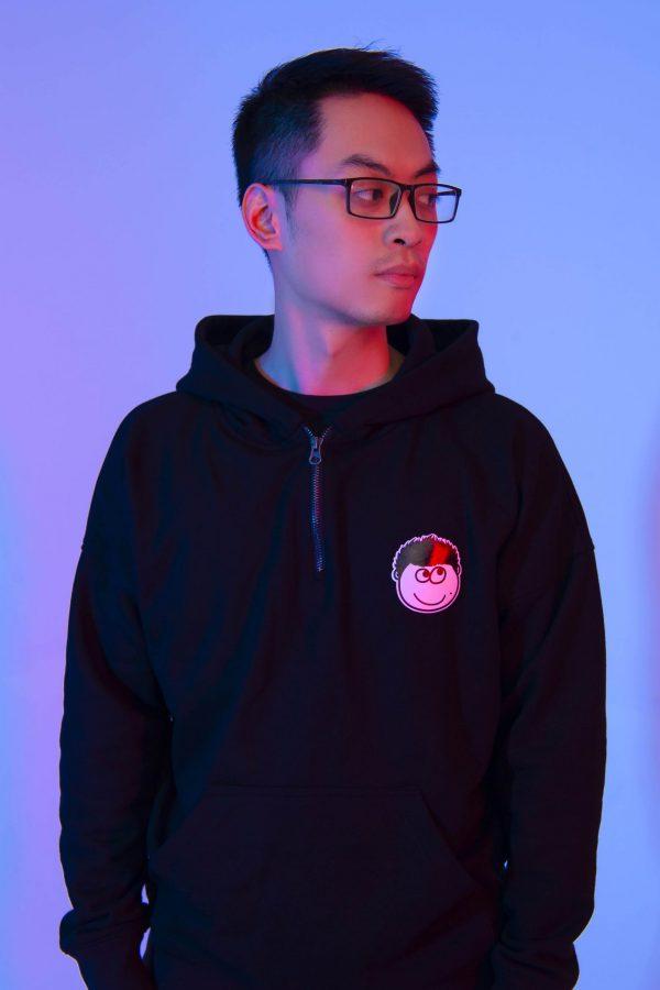 hoodie mixi có khoá